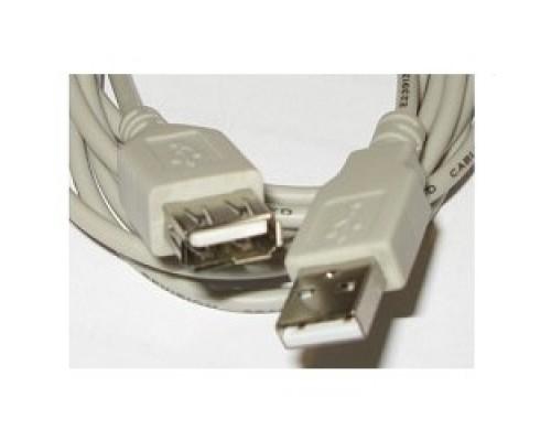 Кабель Gembird PRO CCF-USB2-AMAF-6 2.0 кабель удлинительный 1.8м AM/AF позол.конт., фер.кол., пакет