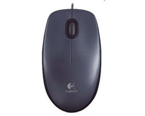 Мышь 910-001794 Logitech Mouse M90 Optical, USB Dark Grey RTL