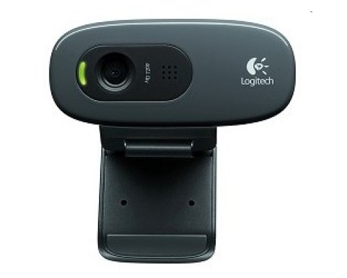 Цифровая камера 960-001063 Logitech HD Webcam C270, USB 2.0, 1280*720, 3Mpix foto, Mic, Black