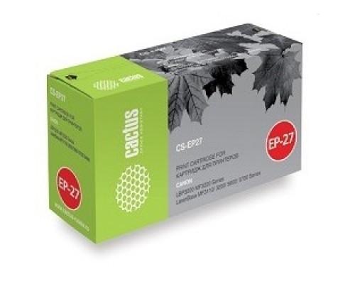 CACTUS EP-27 Картридж (CS-EP27S) для LBP3200 MF3220 Series LaserBase MF3110/3200/5600/5700