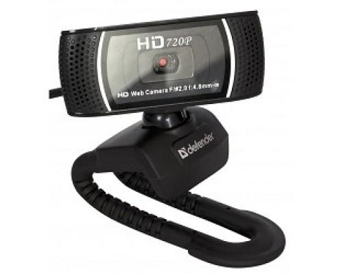 Web-камера Defender G-lens 2597 2МП, автофокус, слеж за лицом, HD 720R 63197