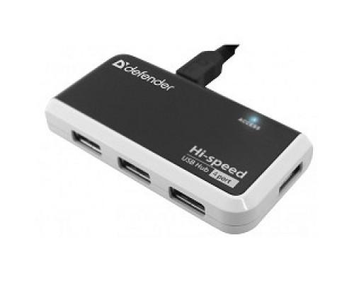 DEFENDER USB QUADRO INFIX USB 2.0, 4 порта, 83504