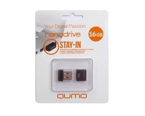 USB 2.0 QUMO 16GB NANO QM16GUD-NANO-B
