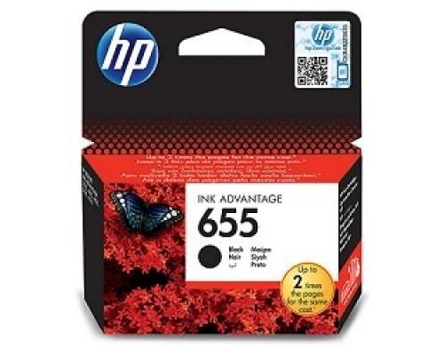 Расходные материалы HP CZ109AE Картридж №655, Black DeskJet IA 3525/5525/4615/4625, Black