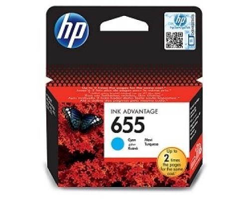 Расходные материалы HP CZ110AE Картридж №655, Cyan DeskJet IA 3525/5525/4615/4625, Cyan