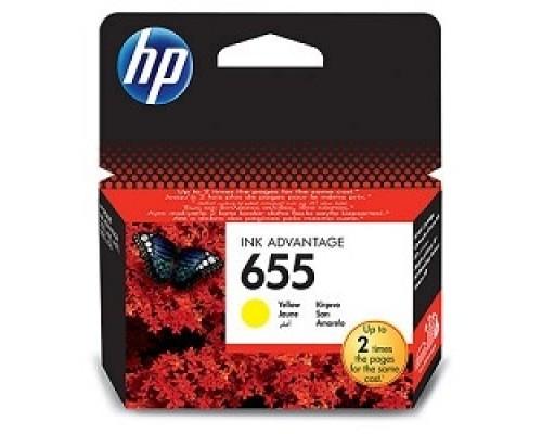 Расходные материалы HP CZ112AE Картридж №655, Yellow DeskJet IA 3525/5525/4615/4625, Yellow