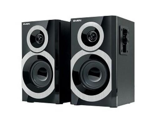 Колонки SVEN SPS-619, чёрный акустическая система 2.0, мощность 2х10 Вт