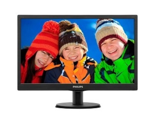 LCD PHILIPS 19,5 203V5LSB26(10/62) черный TN LED, 1600x900, 90/50, 1000000:1, 5ms, 200cd/m D-Sub
