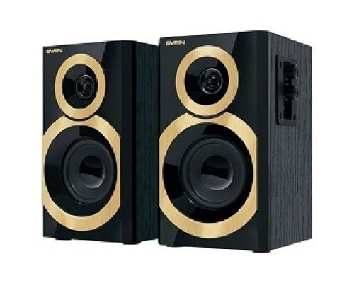 Колонки SVEN SPS-619 GOLD акустическая система 2.0, мощность 2х10 Вт