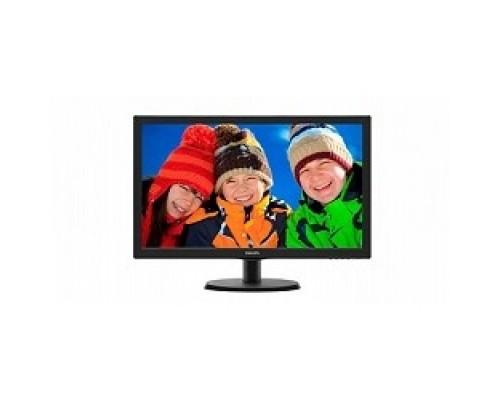 LCD PHILIPS 21.5 223V5LSB2 (10/62) черный TN 1920x1080 76Hz 5ms 90/65 200cd 600:1 10M:1 D-Sub VESA