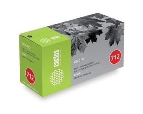 CACTUS Cartridge 712S Картридж (CS-C712S) для принтеров CANON LBP-3010/3100 1500 стр.