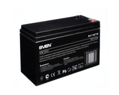 Sven SV 1272 (12V 7.2Ah) батарея аккумуляторная