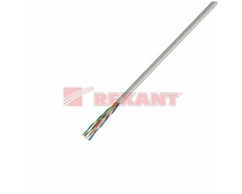 REXANT (01-0043) UTP CAT5e 4 пары (305м) 0.51 мм