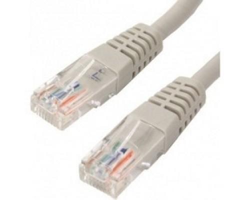 Коммутационный шнур Telecom Патч-корд UTP кат.5е 10м серый NA102--10M