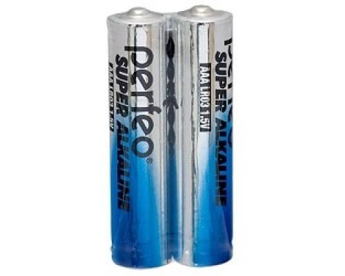 Perfeo LR03/2SH Super Alkaline (2 шт. в уп-ке)