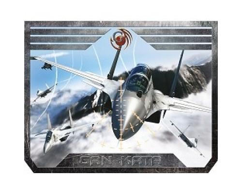 Коврики Dialog Gan-Kata PGK-07 plane с рисунком самолета, Игровая поверхность для мыши -размер 300х235х3мм