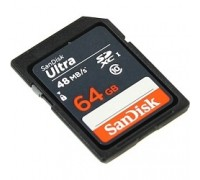 SecureDigital 64Gb SanDisk SDSDUNB-064G-GN3IN SDHC Class 10, UHS-I