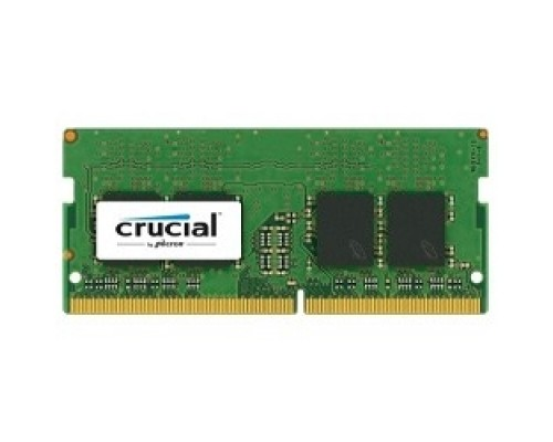 Модуль памяти Crucial DDR4 SODIMM 8GB CT8G4SFS824A PC4-19200, 2400MHz