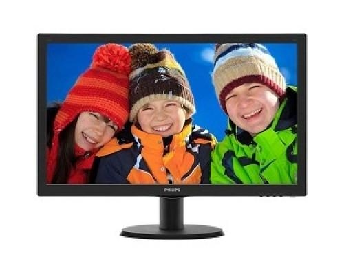 LCD PHILIPS 23.6 243V5QHSBA (00/01) черный VA LED 1920x1080 8ms 16:9 250cd 178гр/178гр D-Sub DVI HDMI