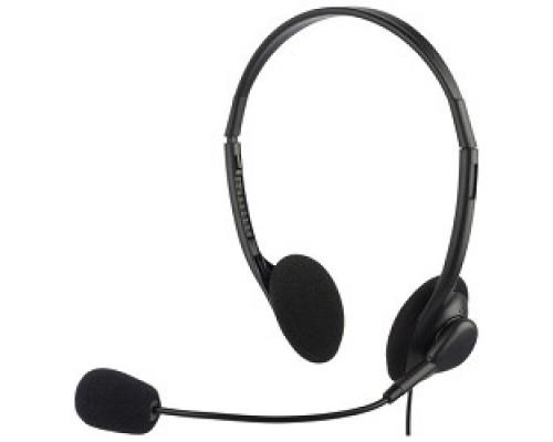 Oklick HS-M143VB черный 1.8м накладные оголовье 614036