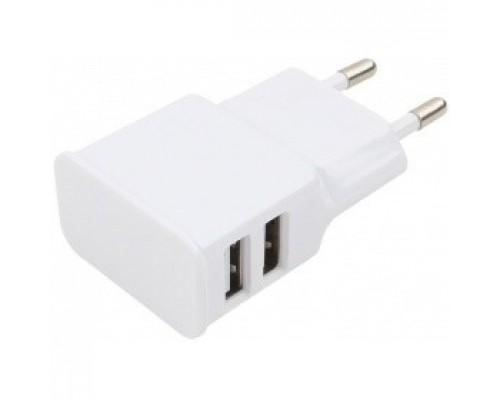 Аксессуар Cablexpert Адаптер питания 100/220V - 5V USB порта, 2.1A, белый