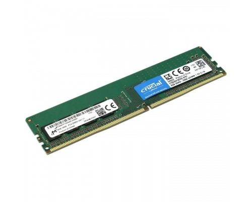 Модуль памяти Crucial DDR4 DIMM 8GB CT8G4DFS8266 PC4-21300, 2666MHz, SRx8