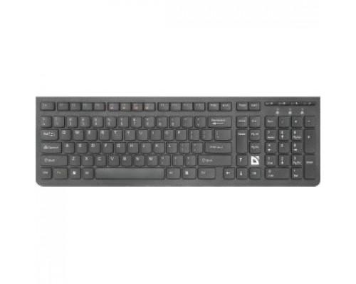 Клавиатура Defender UltraMate SM-535 RU 45535 Беспроводная клавиатура, черный, мультимедиа