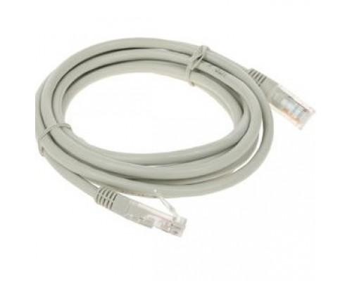 Cablexpert Патч-корд медный UTP PP10-2M кат.5, 2м, литой, многожильный (серый)