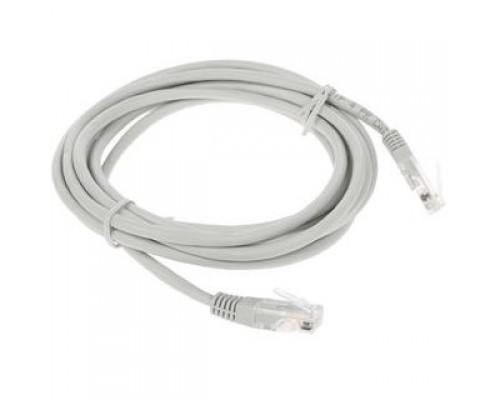 Cablexpert Патч-корд медный UTP PP10-3M кат.5, 3м, литой, многожильный (серый)