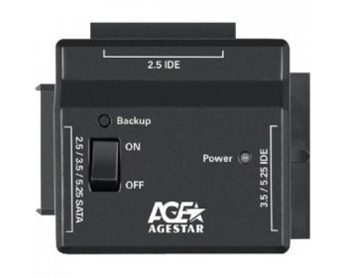AgeStar FUBCP2 Универсальный переходник для HDD 2.5/3.5 , черный