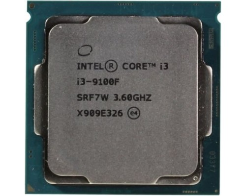 CPU Intel Core i3-9100F Coffee Lake OEM 3.60Ггц, 6МБ, Socket 1151v2