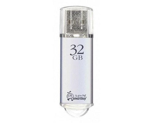 Smartbuy USB Drive 32Gb V-Cut series Silver SB32GBVC-S