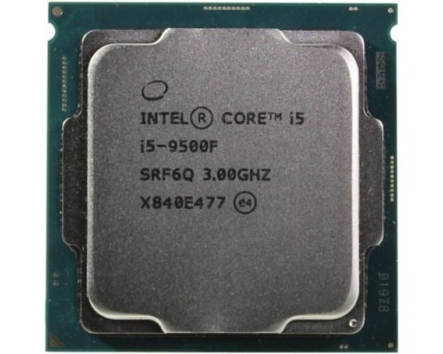 CPU Intel Core i5-9500F Coffee Lake OEM 3.0Ггц, 9МБ, Socket 1151