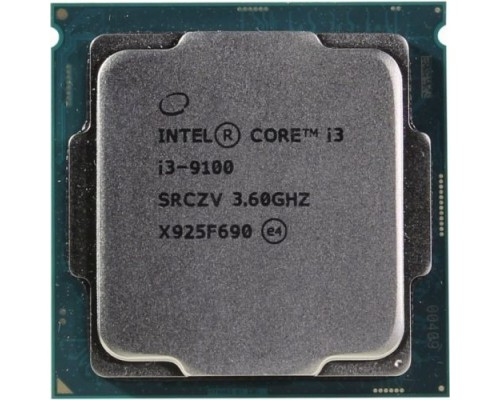 CPU Intel Core i3-9100 Coffee Lake OEM 3.60Ггц, 6МБ, Socket 1151v2
