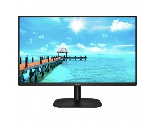 LCD AOC 27 27B2H черный IPS 1920x1080 75Hz 7ms 178/178 250cd 20M:1 HDMI1.4