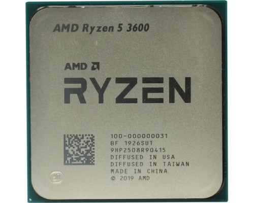CPU AMD Ryzen 5 3600 OEM Multipack (+ кулер) 3.6GHz up to 4.2GHz/6x512Kb+32Mb, 6C/12T, Matisse, 7nm, 65W, unlocked, AM4