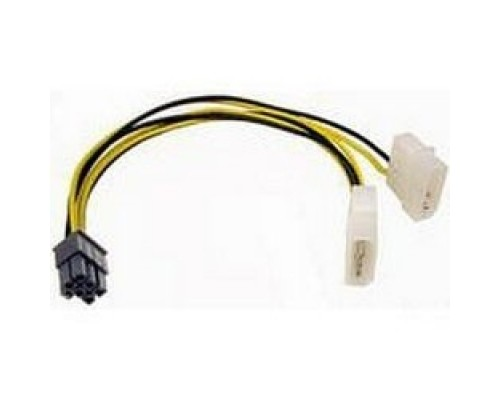 Gembird Разветвитель питания , 2xMolex->PCI-E 6pin, для подкл. в/к к б/п CC-PSU-6